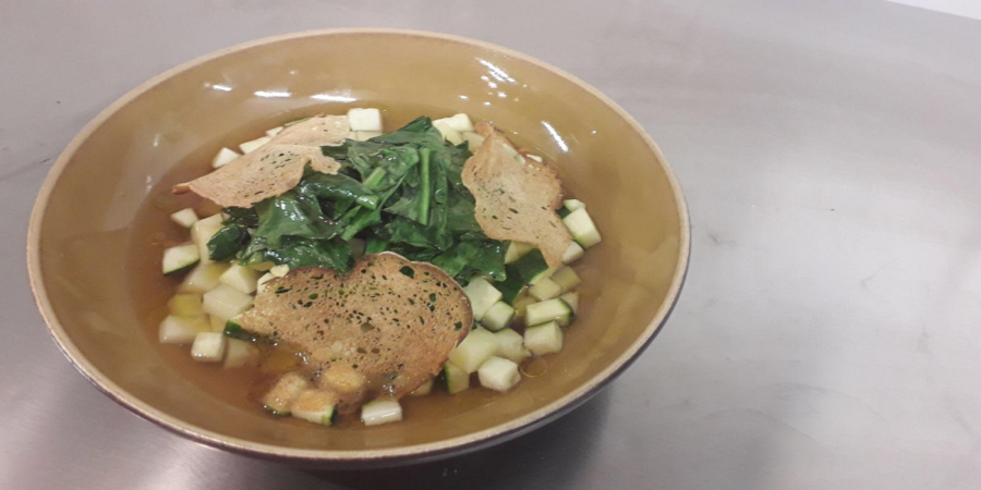 Chicory and Potatoes soup