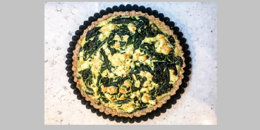 Spinach&Feta Tart