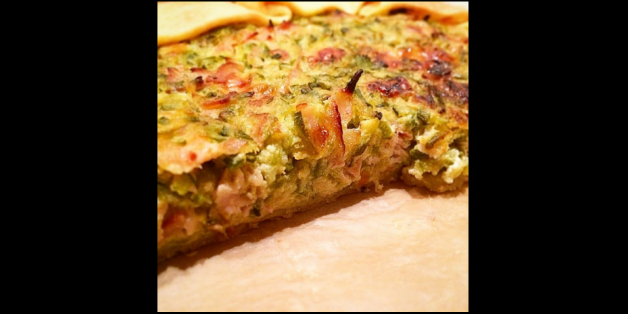 Courgettes Pie