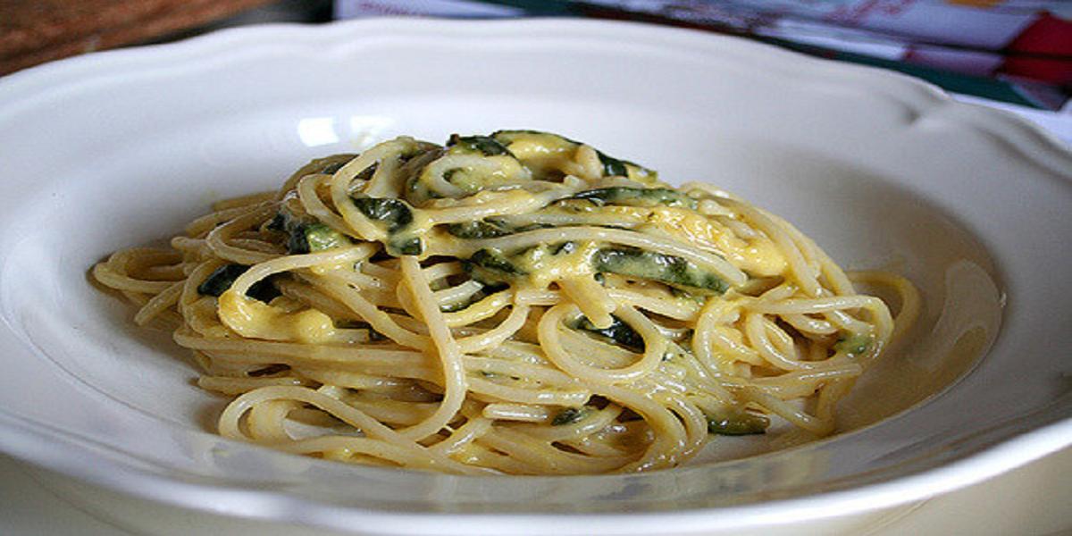 Courgette's Carbonara