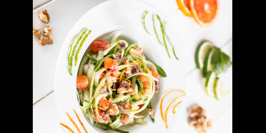 Puntarelle Salad – Revisited Recipe