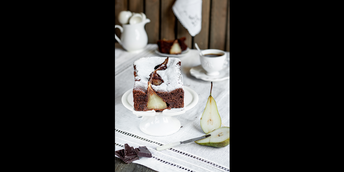 Chocolate and Pear Plumcake