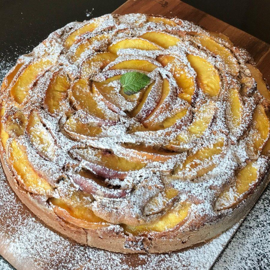Peaches Cake